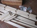 桐材の部材
