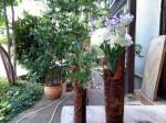 樹皮花器1