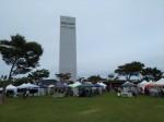 会場とタワー