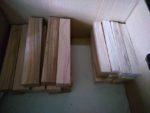 木取りのフォーク材